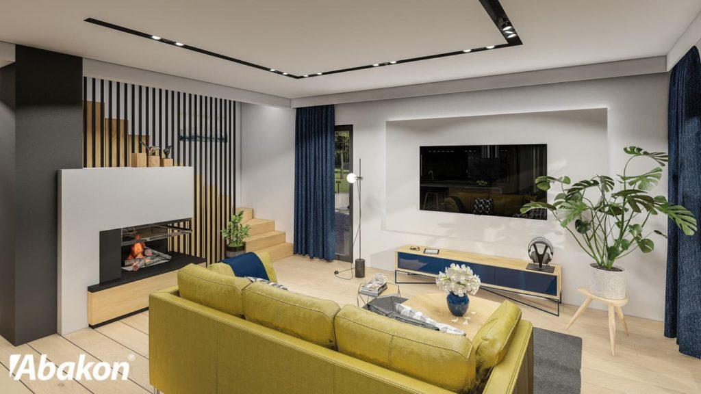 domy z poddaszem mieszkalnym - Abakon 2020 - wnętrze