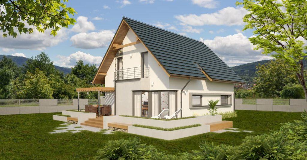 projekt domu Abakon 2007 SE