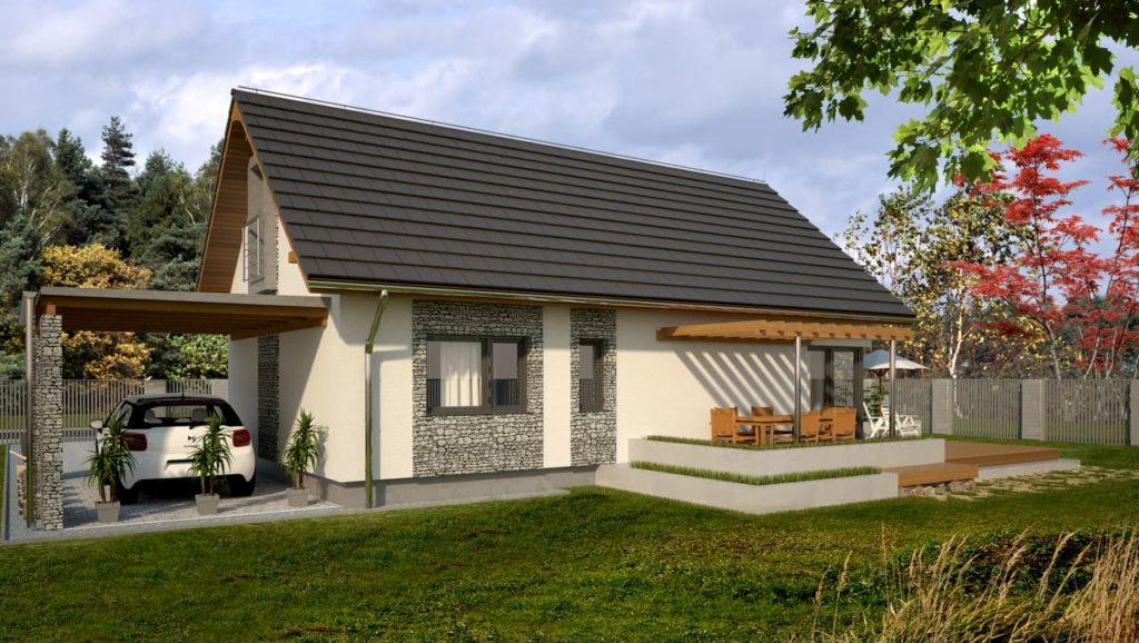 projekt domu Abakon 2009 SE 3