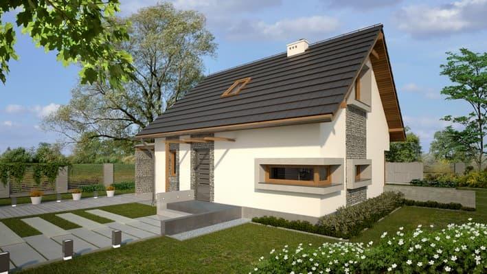 projekt domu Abakon 2010 SE