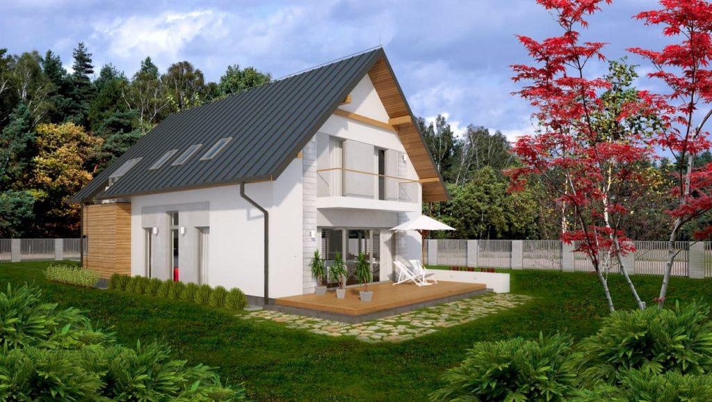projekt domu Abakon 2012 SE