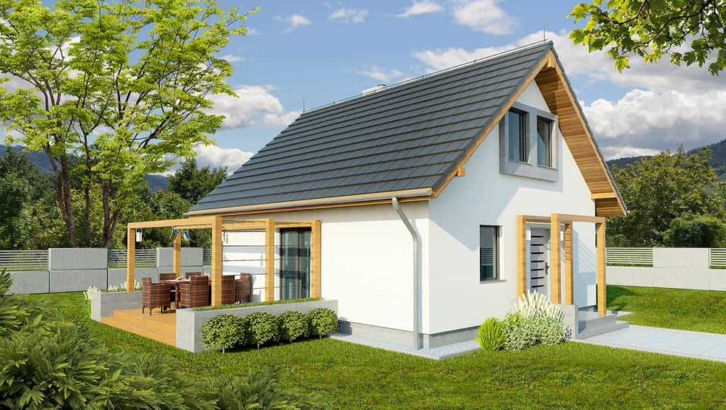 projekt domu Abakon 2013 SE