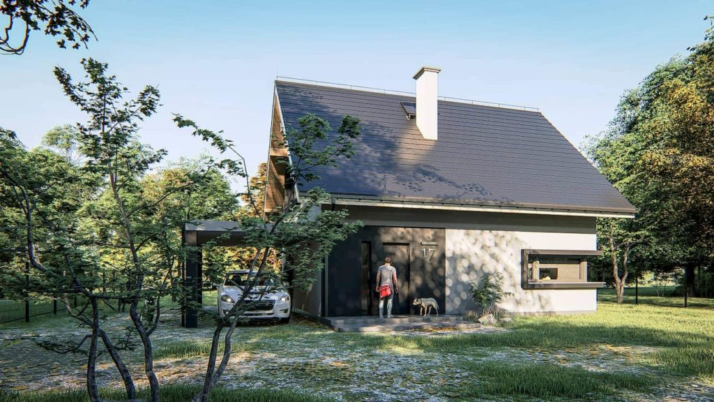 projekt domu Abakon 2018 SE