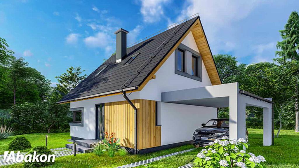 dom tani w budowie - Abakon 2019 SE