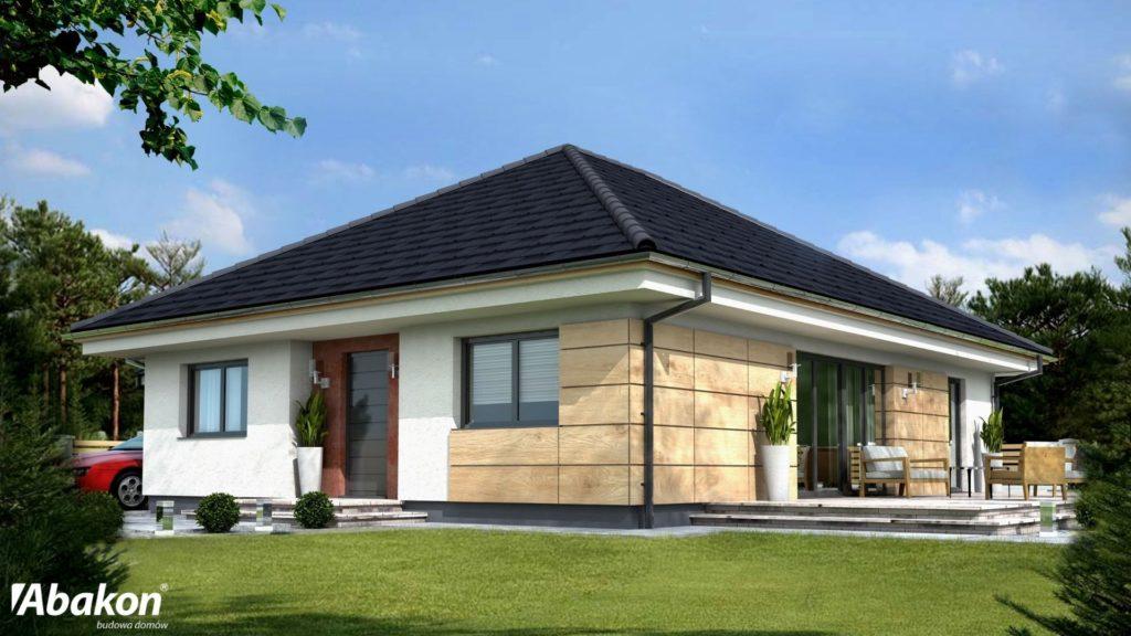 dom parterowy dla czteroosobowej rodziny