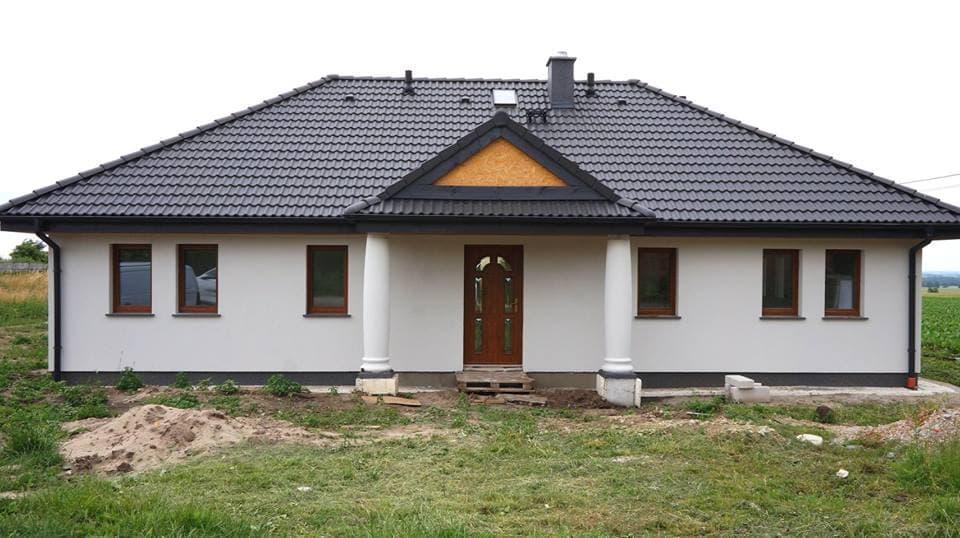 dom w stylu dworkowym - abakon Portico
