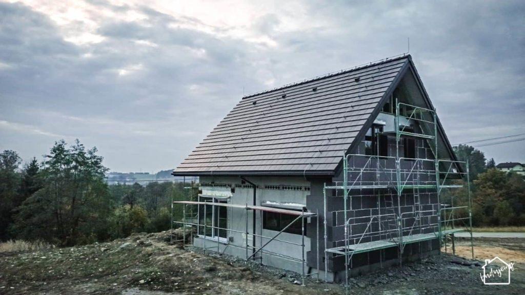 zakończenie budowy - ocieplanie ścian