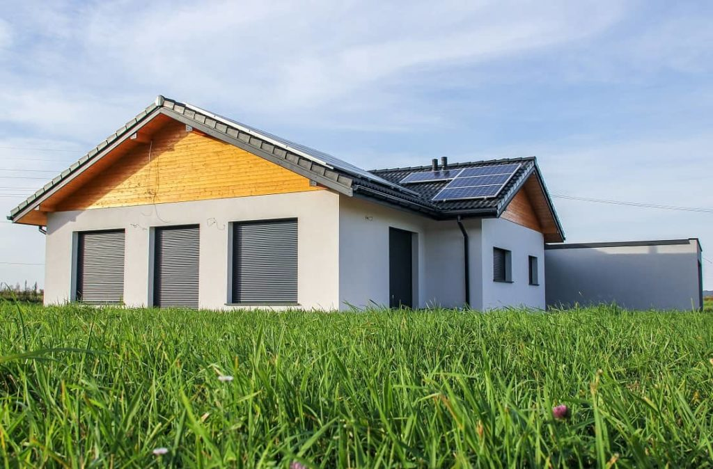 domy parterowe - modulo elewacja