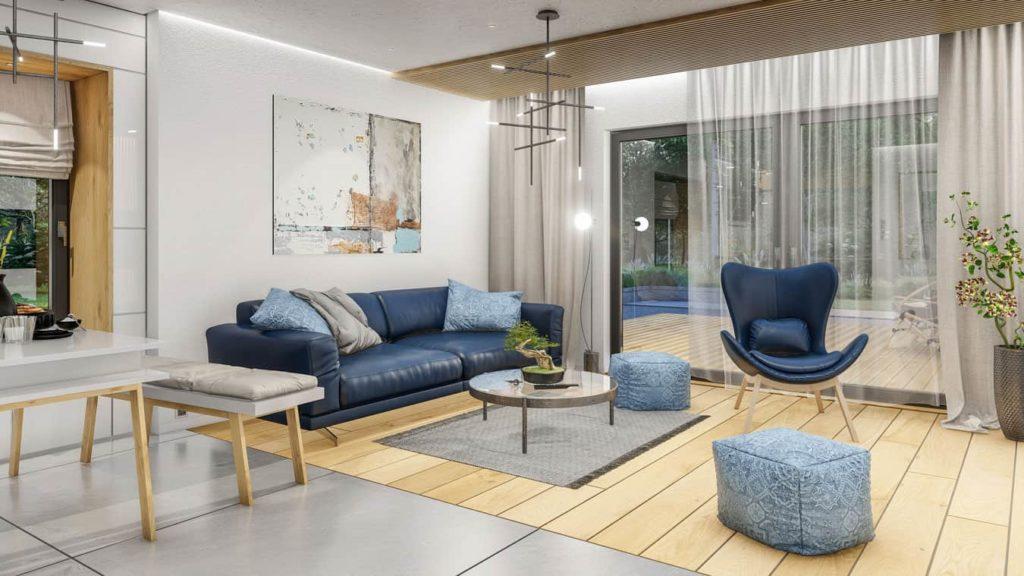 komfortowe wnętrze domu