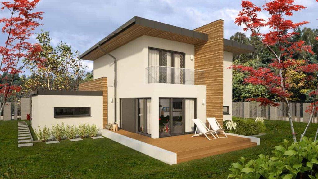 nowoczesne projekty domów - piatto