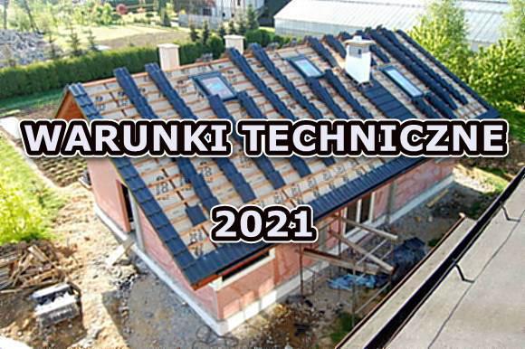 warunki techniczne 2021