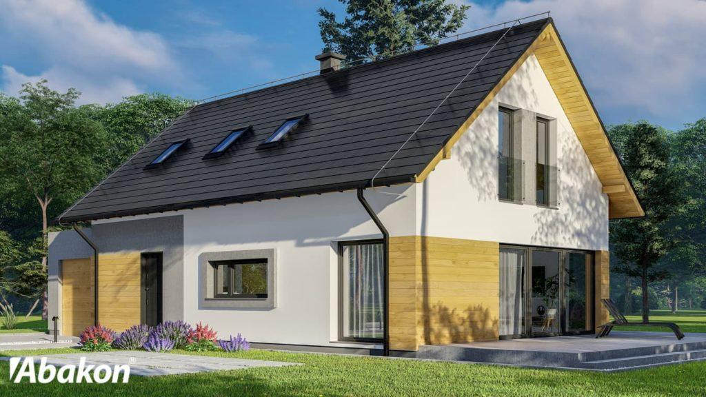 domy z poddaszem mieszkalnym - Abakon 2020