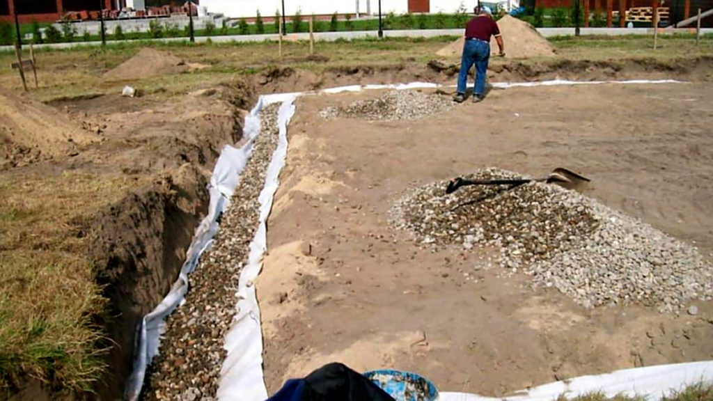 etapy budowy domu - prace ziemne