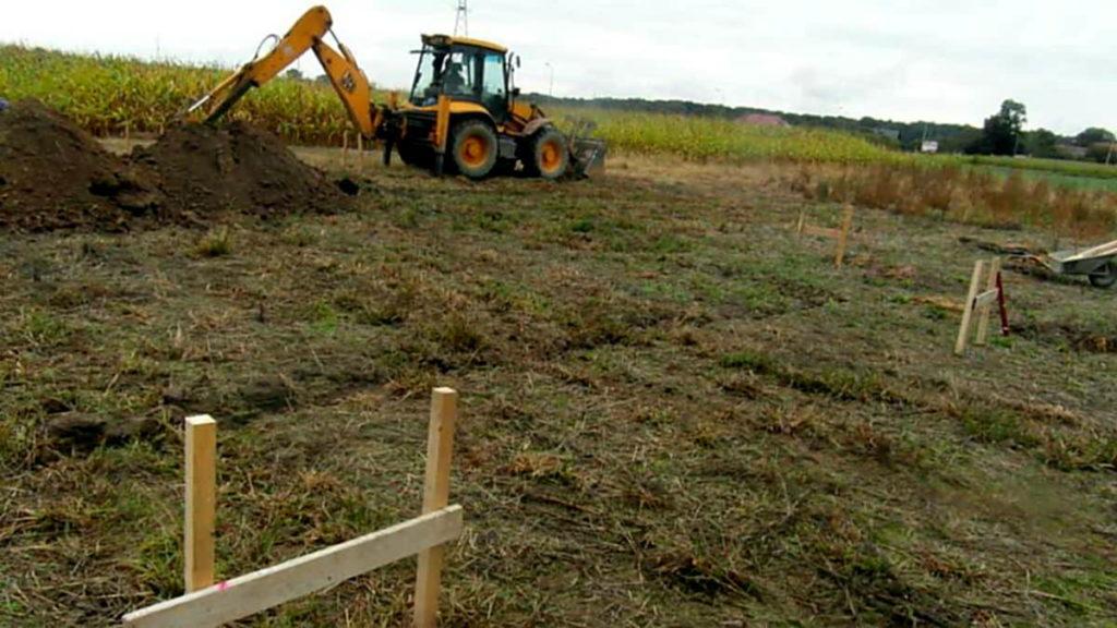 etapy budowy domu - przygotowanie terenu