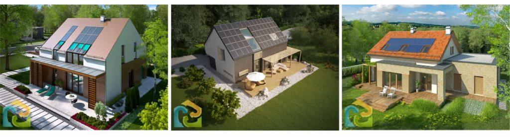 domy czystej energii
