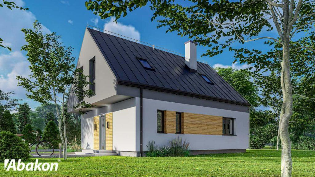 projekt domu Abakon Duo Mini