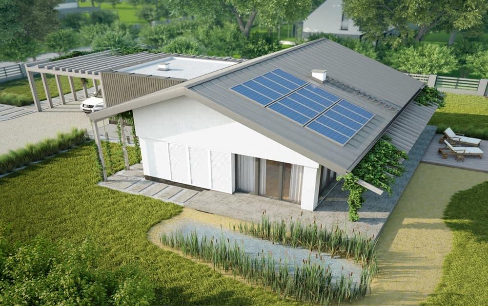 domy energooszczędne - Nizinny