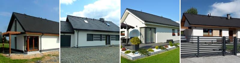 domy tanie w budowie - Abakon 2009