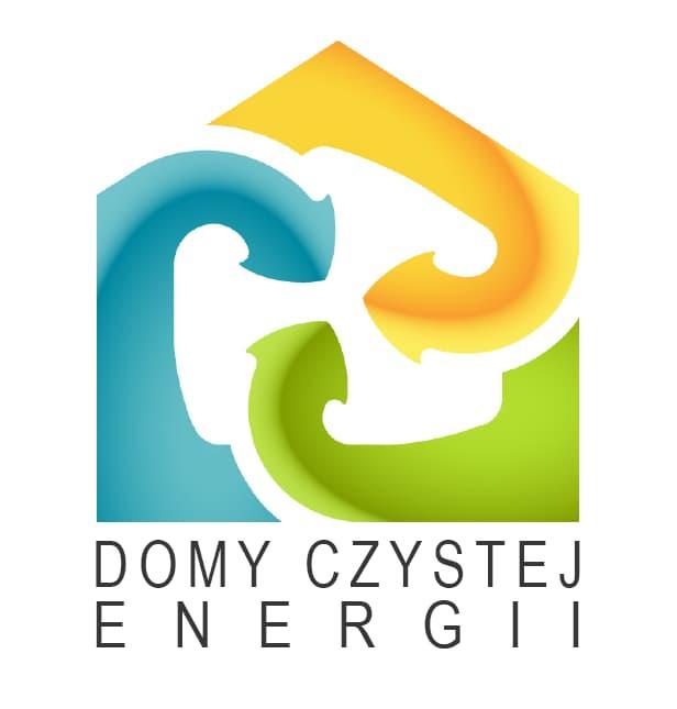 domy czystej energii - domy niskoenergetyczne - logo