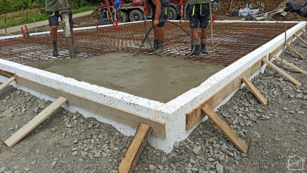 płyta fundamentowa - beton