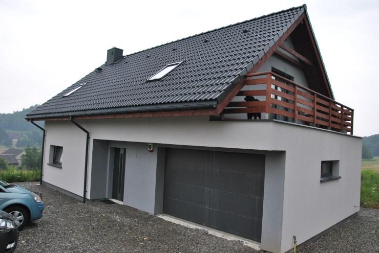 szybka tania budowa - dom z keramzytu - projekt indywidualny
