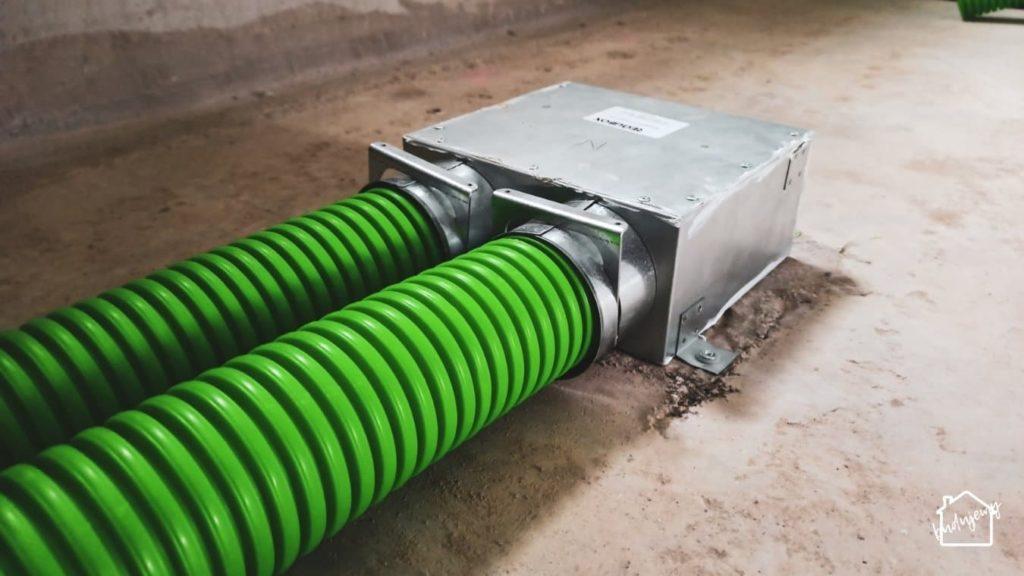 rekuperacja - wentylacja mechaniczna z odzyskiem ciepła