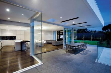 jak zbudować taras z betonu architektonicznego