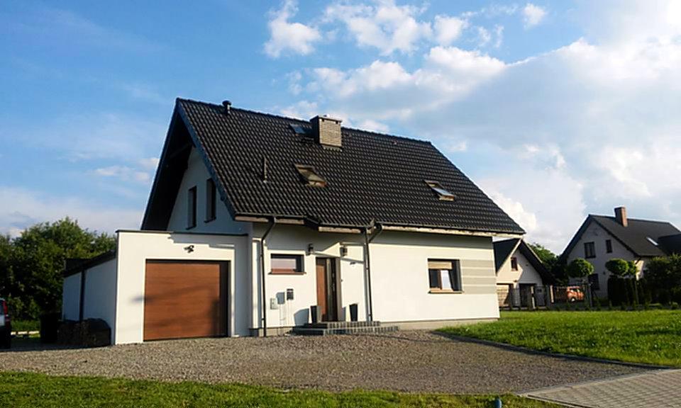 dom z keramzytu w Bielsku-Białej