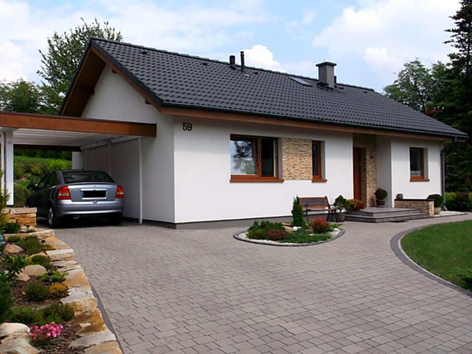 projekty małych domów - domy pod klucz w Bielsku-Białej - wolny termin budowy