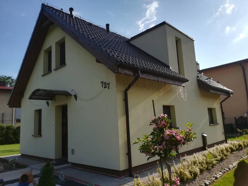 wolny termin budowy - projekty małych domów - dom z keramzytu w Bielsku-Białej