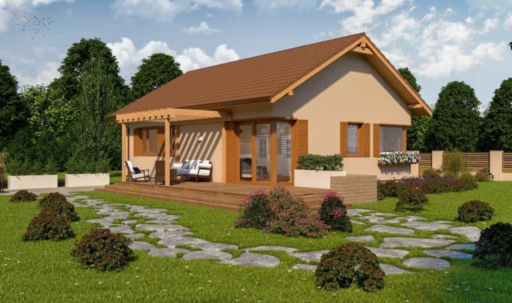 projekty małych domów - Abakon 2009 SE 4