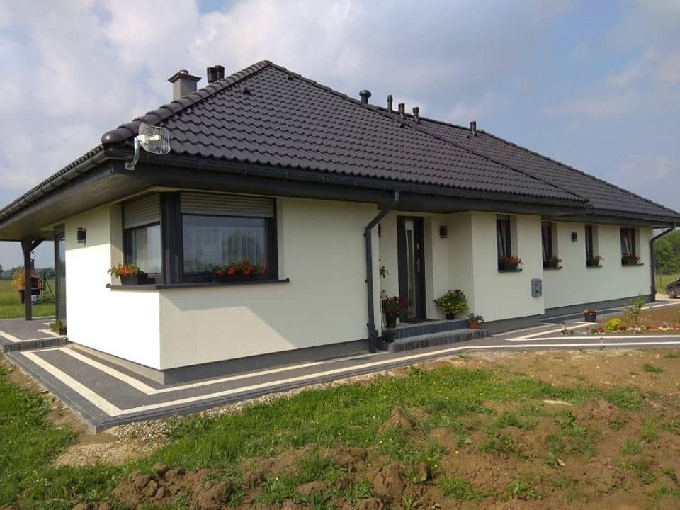 projekty małych domów - dom z keramzytu w Bielsku-Białej