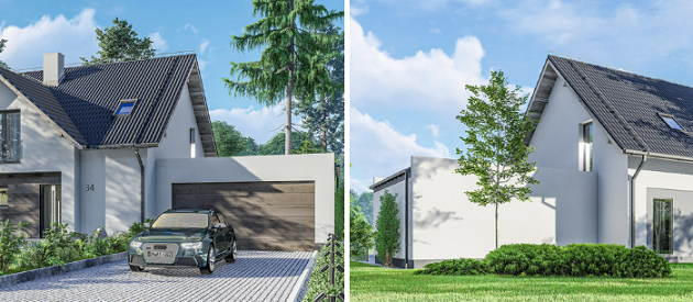 nowoczesny design domu