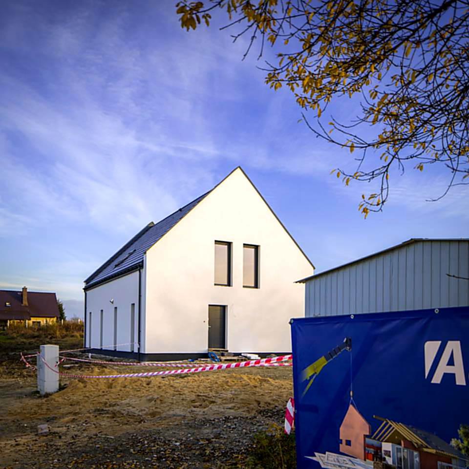 domy jednorodzinne z keramzytu we Wrocławiu
