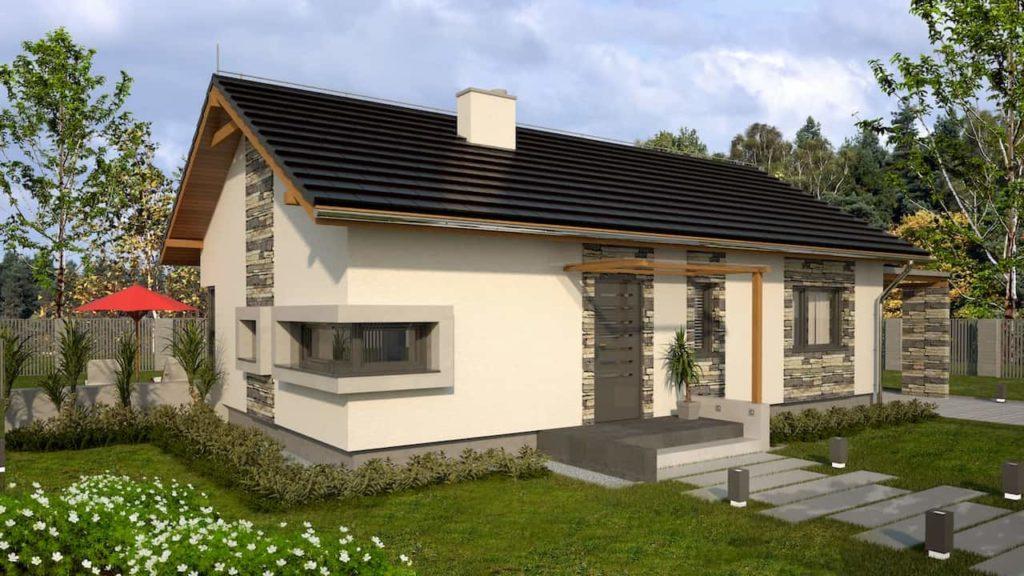 projekty małych domów - Abakon 2009 SE 2