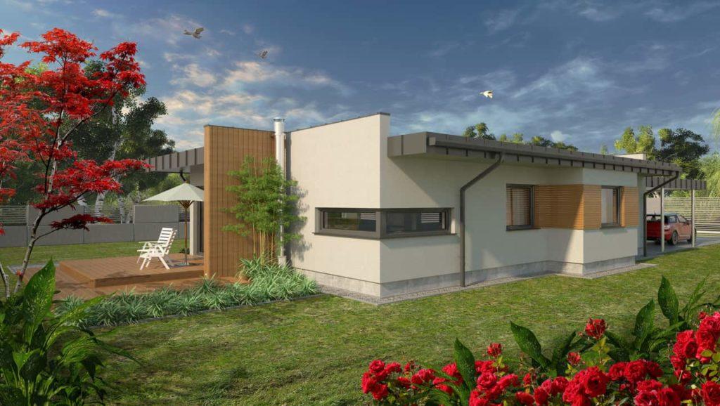 projekty małych domów - Abakon Piatto 1