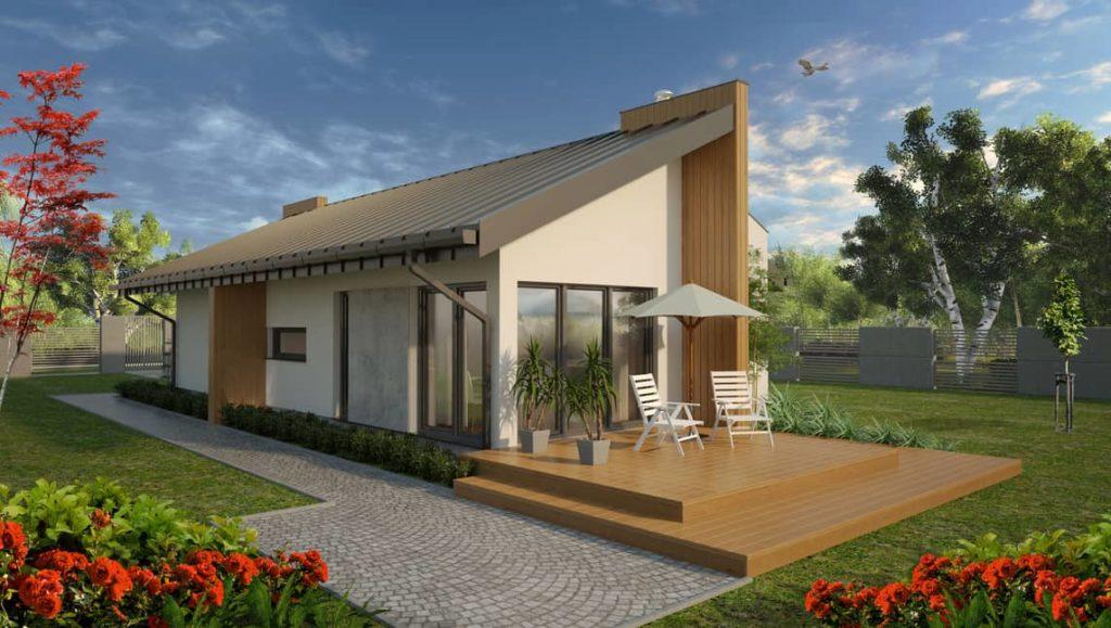 projekty małych domów - Abakon Piatto 2