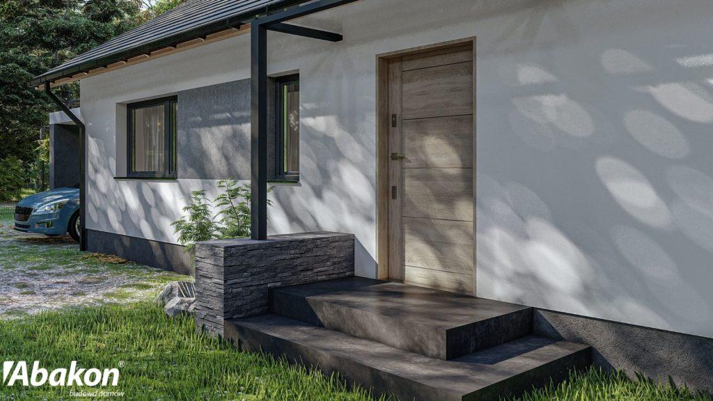 projekty domów jednorodzinnych z keramzytu - budowa systemem gospodarczym