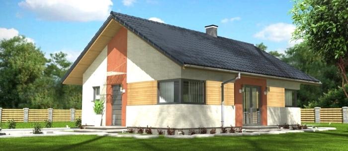 Dom parterowy_Abakon Leggero